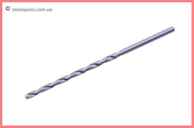 Свердло по металу Apro - 4,0 мм, подовжене Р6М5, фото 2
