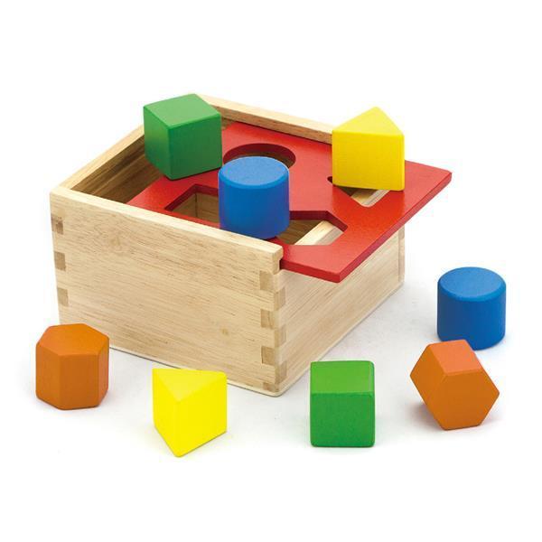 Деревянный сортер Viga Toys Геометрические фигуры (50844)