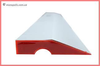 Правило трапецієподібне Housetools - 2000 мм, ребро жорсткості, фото 2