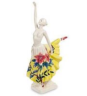 "Фарфоровая cтатуэтка ""Танцующая леди"" (Pavone) JP-96/31"