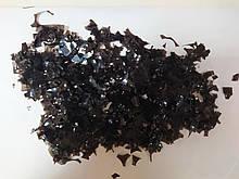 Аксесуари для свята конфеті мішура чорний 100грам