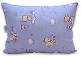 Одеяло полуторный с мишками и наполнителем искусственный лебяжий пух + 1 подушка 40х60 см, фото 3