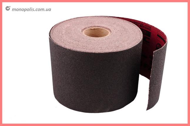 Шліфувальна шкірка Falc 200 мм х 50 м, Р80, тканина, фото 2