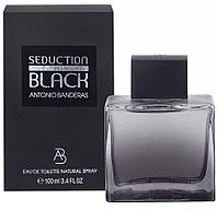 Мужская туалетная вода Antonio Banderas Seduction in Black for men, 100 мл, фото 1