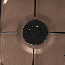 Газовая плита таганок LEXICAL LGS-2814-5 настольная на 4 конфорки, фото 3