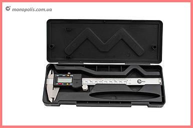Штангенциркуль Intertool - 150 мм электронный, цена деления 0,01 мм