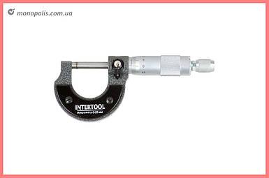 Микрометр Intertool - 25 x 50 мм, 0,01 мм