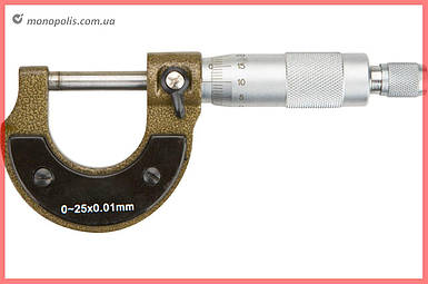 Микрометр Topex - 25 мм, 0,01 мм