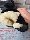 Детские зимние сапожки на девочку натуральный мех, фото 3