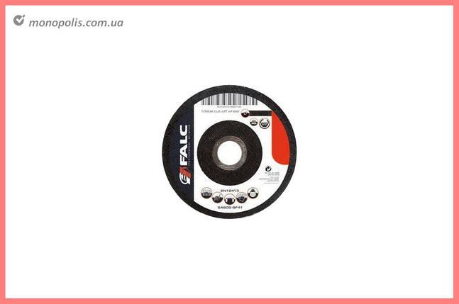 Круг зачистной Falc - 230 х 6,0 х 22,2 мм, прямой, фото 2