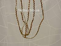 Золотая тесьма вьюнок (ширина 5-6мм)