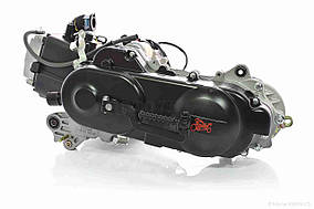 Двигатель  GY6 80cc  40cm, под один амортизатор  LIPAI
