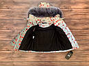 Детский зимний комбинезон Буквы 86-104 см, фото 2