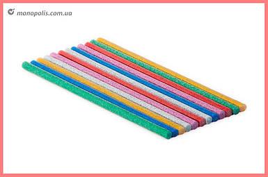Клеевые стержни Intertool - 7,4 x 200 мм цветные перламутровые (12 шт.)