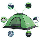 Палатка KingCamp Modena 2(KT3036) (green), фото 2