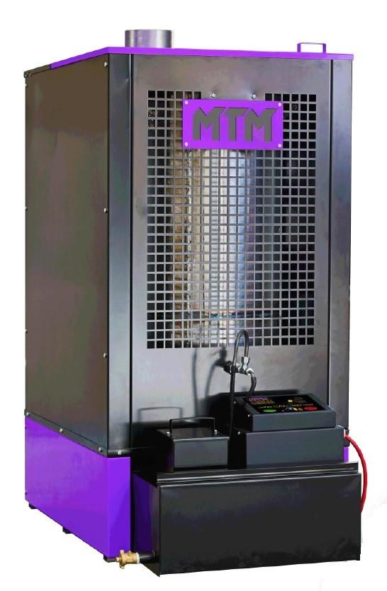 Печь на отработке MTM 30-52 кВт