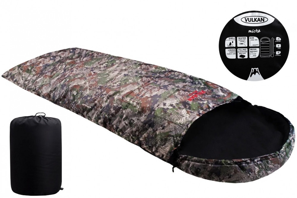 Спальный мешок Vulkan Micro лес