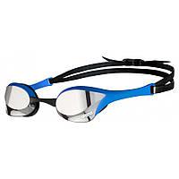 Окуляри для плавання ARENA COBRA ULTRA SWIPE MIRROR SILVER-BLUE