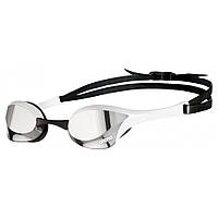 Окуляри для плавання ARENA COBRA ULTRA SWIPE MIRROR SILVER-WHITE