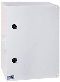 Корпус ударостійкий з АБС-пластику 400х600х200мм, IP65 з панеллю під 3-фазний лічильник і 20 модулів, фото 2