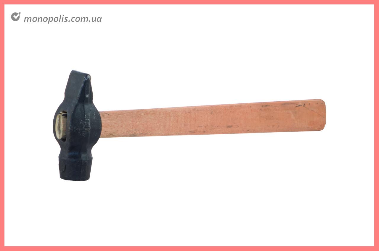Молоток ТМЗ - 500 г, круглый бойок, ручка дерево