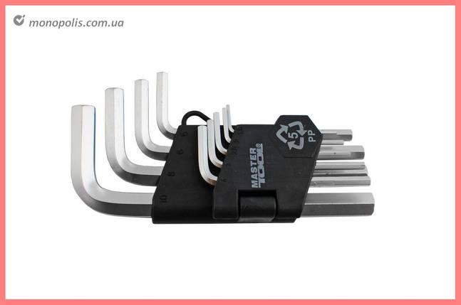 Набор шестигранных ключей Mastertool - 9 шт., фото 2