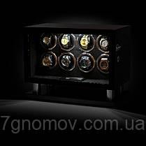 Шкатулка для подзавода часов, тайммувер для 8-и часов Rothenschild RS-8008BF-D, фото 3