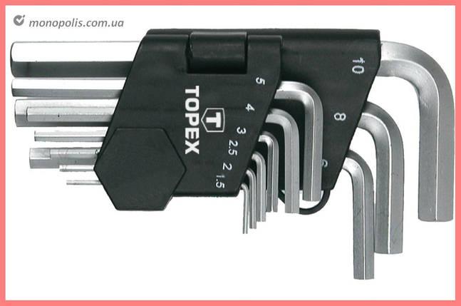 Набор шестигранных ключей Housetools - 9 шт., фото 2