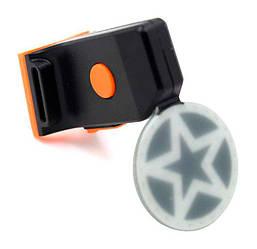 Стоп / Мигалка велосипедная задняя Звезда (LED Bicycle Tail Lamp)