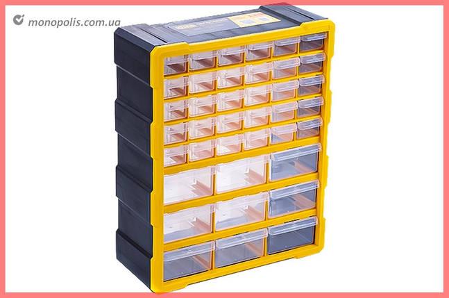 Органайзер для метизів Сила - 475 x 380 x 160 мм x 39 ящиків, фото 2