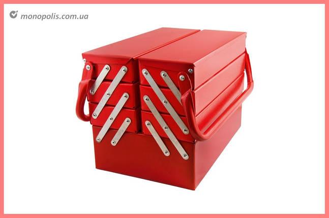 Ящик для инструмента Гранит - 330 мм x 7 секций, металлический, фото 2