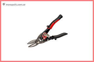 Ножницы по металлу Intertool - 250 мм, левые Prof, фото 2