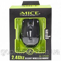 Игровая Беспроводная мышка IMICE E-1700, фото 3