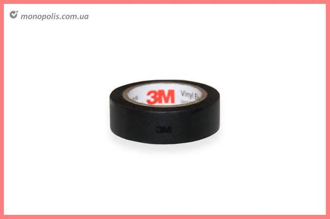 Стрічка ізоляційна PRC 3M - 20 м, чорна, фото 2