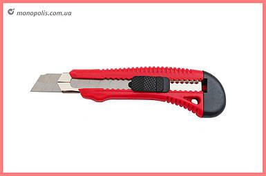 Нож Intertool - 18 мм, усиленный