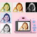 Детский  фотоаппарат ( QF928) (Голубой), фото 4