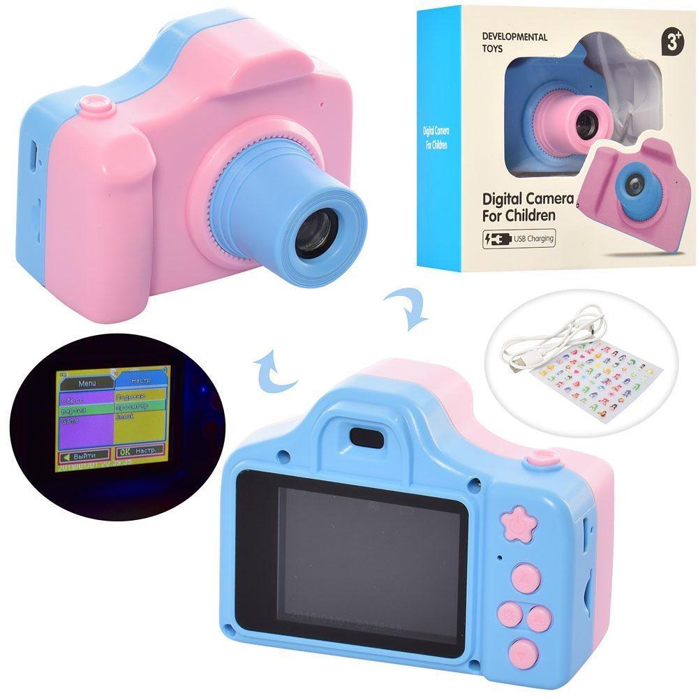 Детский  фотоаппарат ( QF928) (Голубой)