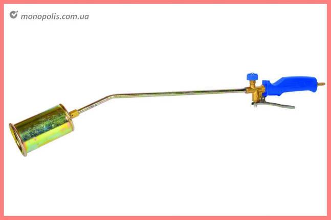 Горелка газовая Mastertool - 40 x 300 мм с клапаном PROFF, фото 2