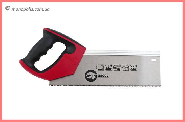 """Ножовка по дереву пасовочная Intertool - 300 мм, 12T х 1"""", фото 2"""