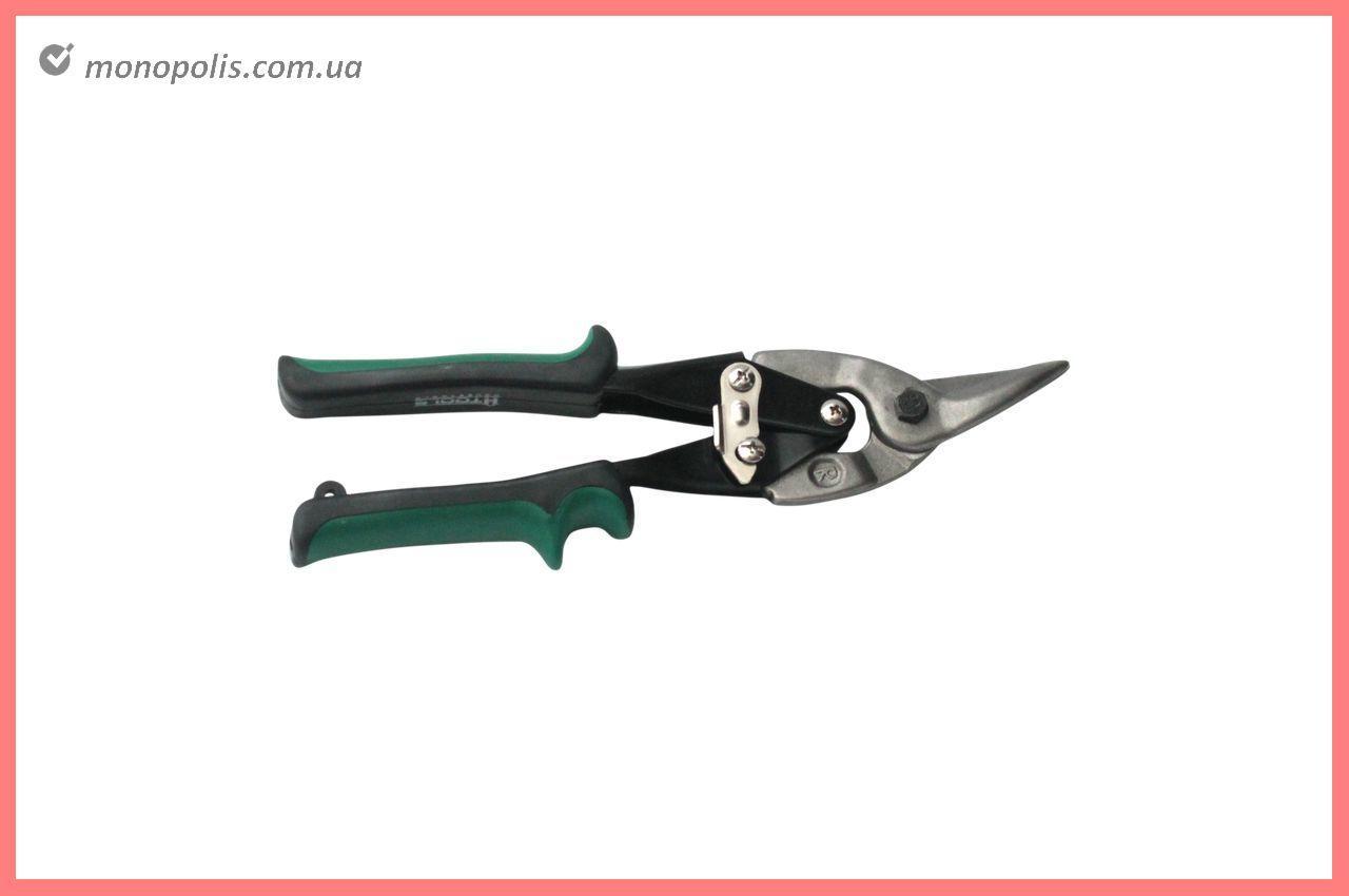 Ножницы по металлу Housetools - 250 мм, левые PROF
