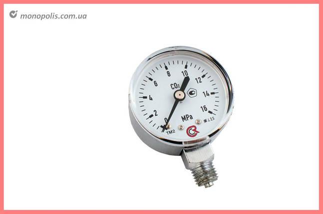 Манометр углекислотный Vita - 0-16 МПа, фото 2
