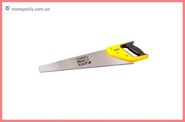 """Ножовка по дереву Mastertool - 400 мм x 9T x 1"""" x 3D, широкая, фото 2"""