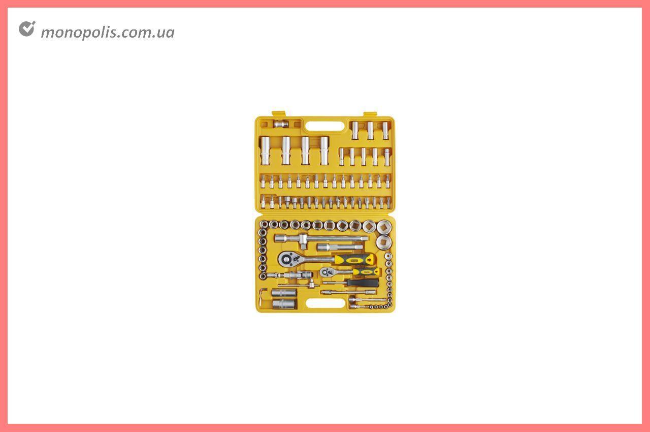 """Набір інструменту Сила - 94 од. x 1/4"""", 1/2"""", жовтий"""