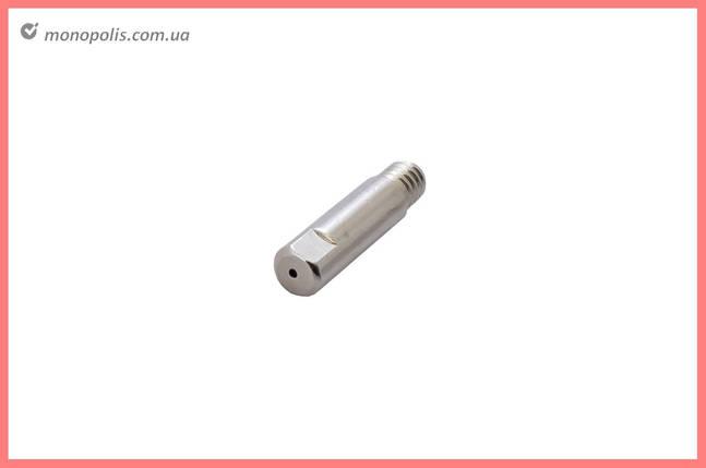 Наконечник для зварювальних напівавтоматів Vita - 0,8 мм E-Cu-Nickel М6 x D6 мм x L25 мм, фото 2