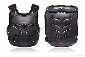 Мотозащита  черепаха  SCOYCO  #AM05, XL, черная, полипропилен