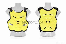 Мотозащита  черепаха  VEMAR  полипропилен, M, желтая