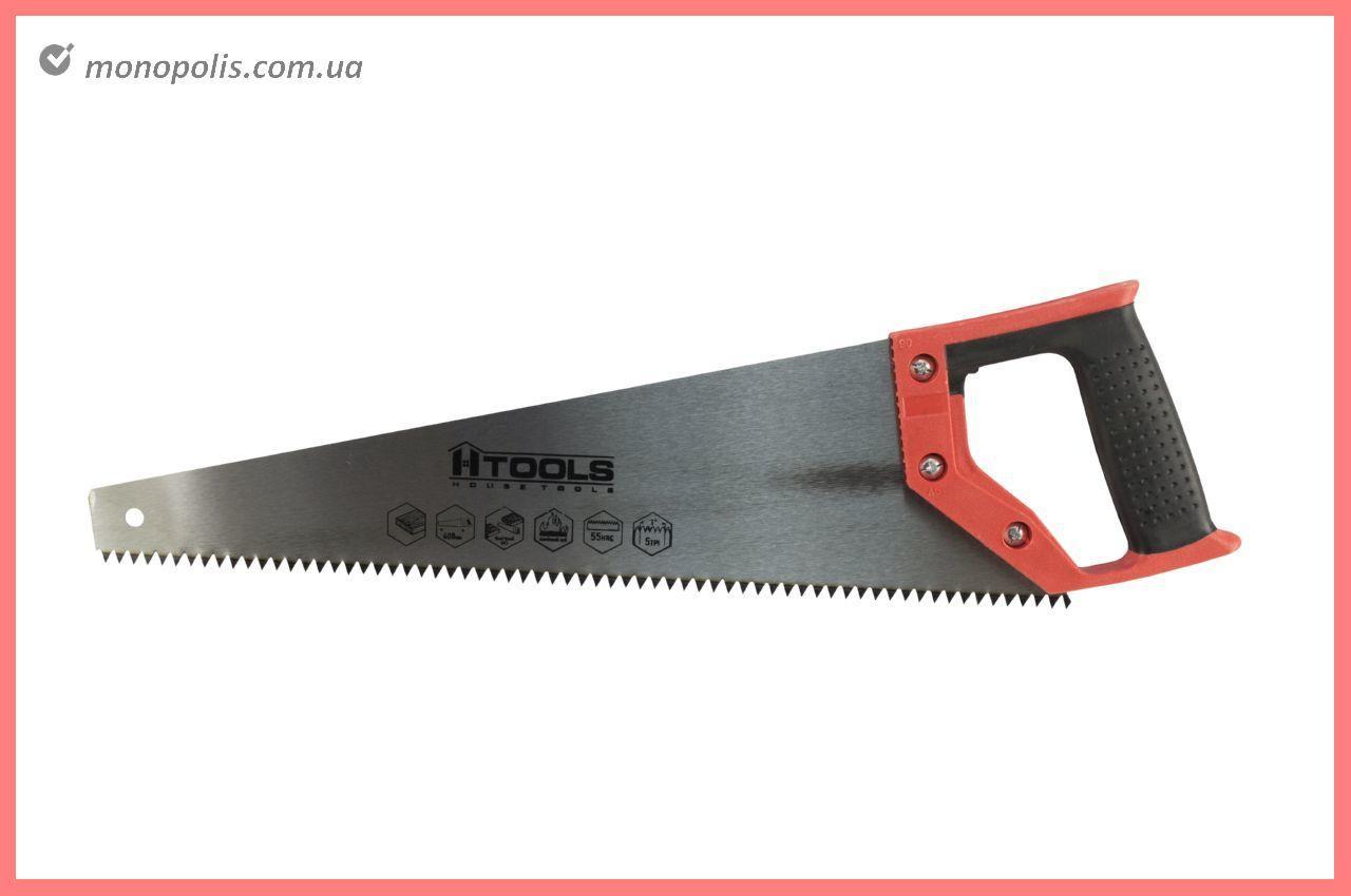 """Ножовка по дереву Housetools - 400 мм x 5T x 1"""" x 2D"""