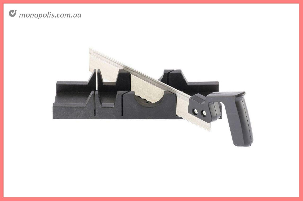Стусло пластиковое с ножовкой Housetools - 300 мм