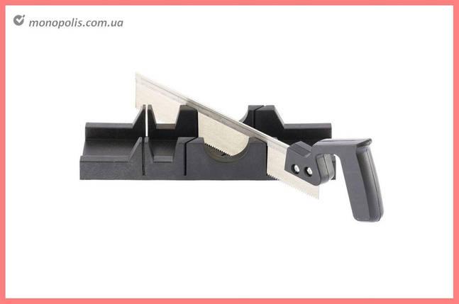 Стусло пластиковое с ножовкой Housetools - 300 мм, фото 2