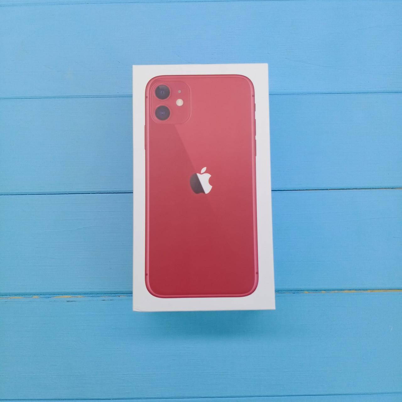 Коробка Apple iPhone 11 Red